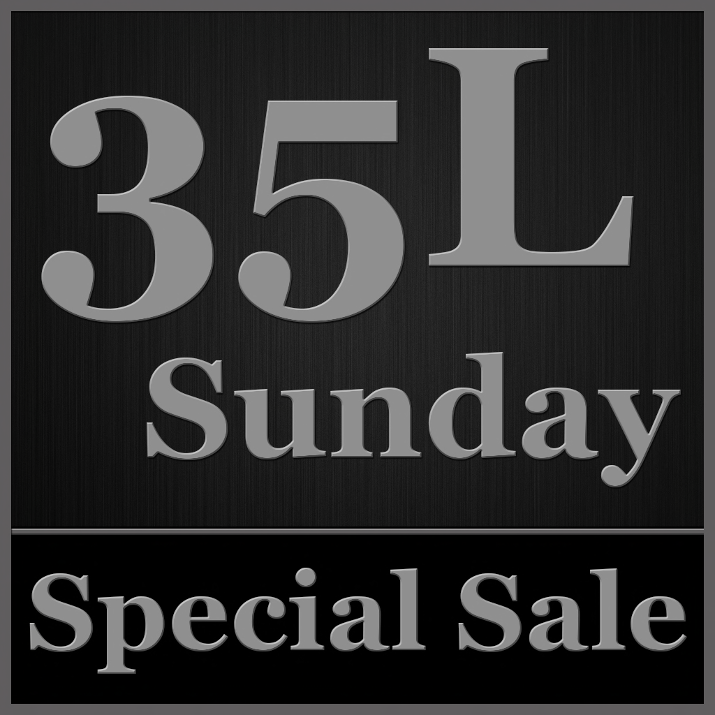 35L Sunday - Special Sale (Texture)