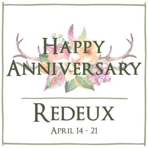 Redeux April Happy Anniv