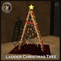 Fantavatar & Moonstruck - Ladder Christmas Tree