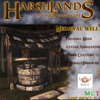 HarshLands - Medieval Well