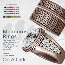 On a Lark - Meandros Ring 2