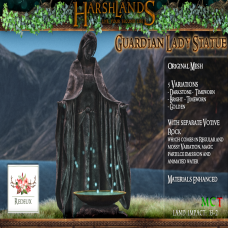 Harshlands - Guardian Lady Statue_ redeux exclusive