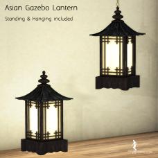 HopScotch - Asian Gazebo Lantern