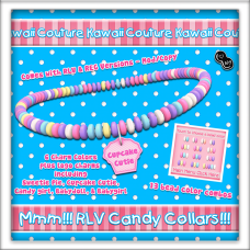 Kawaii Couture RLV Candy Collars - Cupcake Ad