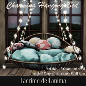 Lacrime - Charming Hanging Bed AD