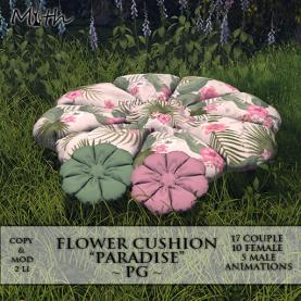 Myth - Flower Cushion Paradise PG Ad