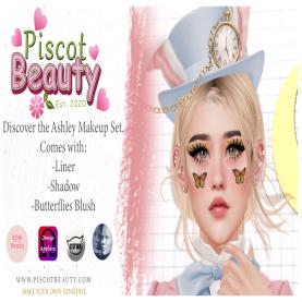 Piscot Beauty - Ashley Makeup Set Ad