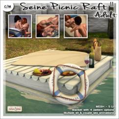 Velvet Whip - AD Picnic Raft II - Adult